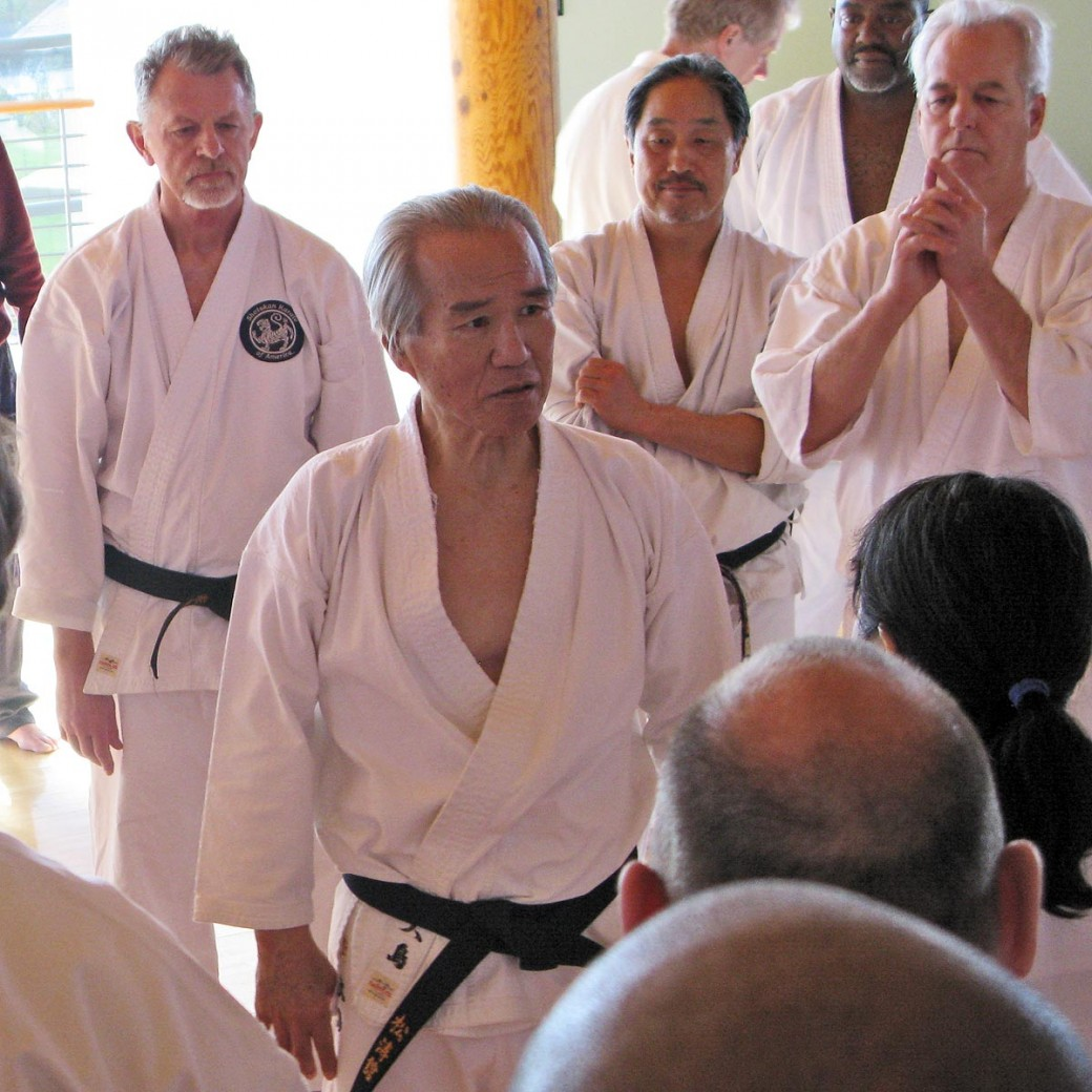 Ohshima Sensei Instructs Black Belts